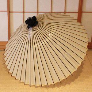 番傘 白 京都の辻倉