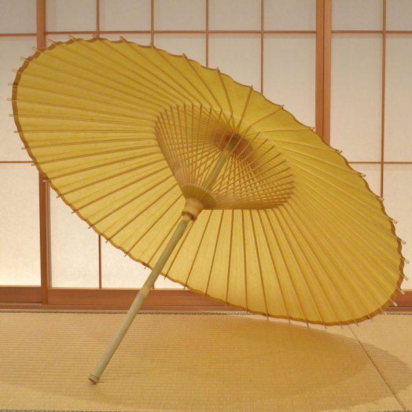 色番傘 山吹色 和傘 極み Japanese umbrella