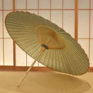 緑 番傘 和傘 色番傘 極み 辻倉オリジナル Japanese umbrella