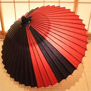特別御誂え和傘 オーダーメイドの蛇の目傘