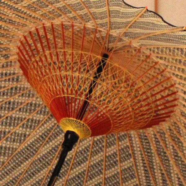 もよう和傘 蛇の目傘 型染