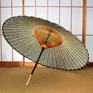 和傘 もよう 蛇の目傘の内傘 蔦もよう Japanese umbrella