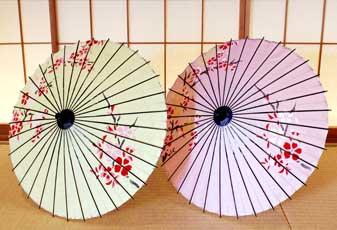 子ども特選和日傘 桜 ピンク 黄色