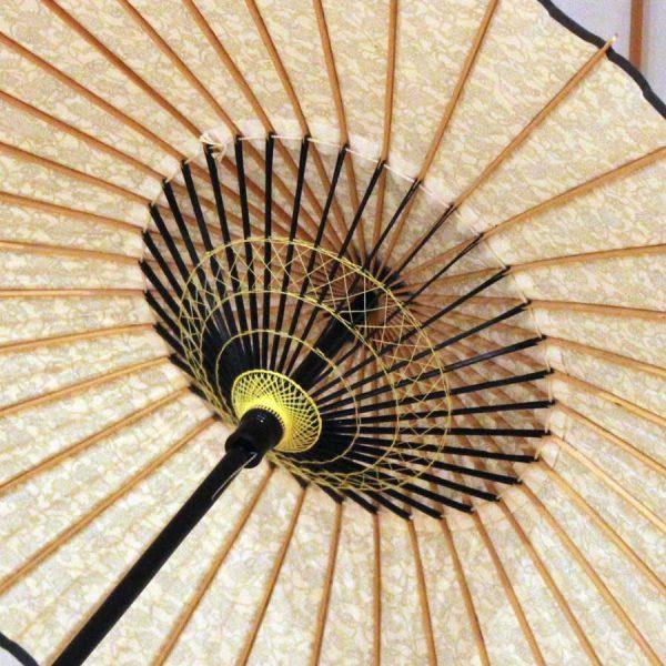 和日傘内側 飾り糸