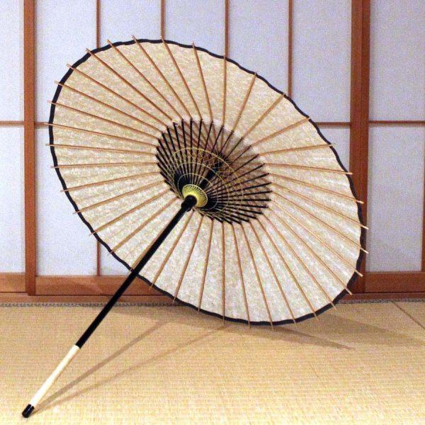 和日傘 内側 飾り糸 もよう和傘