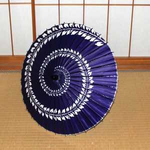 紫 藤模様 和日傘 Japanese umbrella made in japan