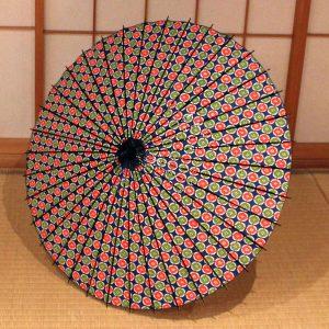 型染め和紙 もよう和傘 和日傘  Japanese umbrella