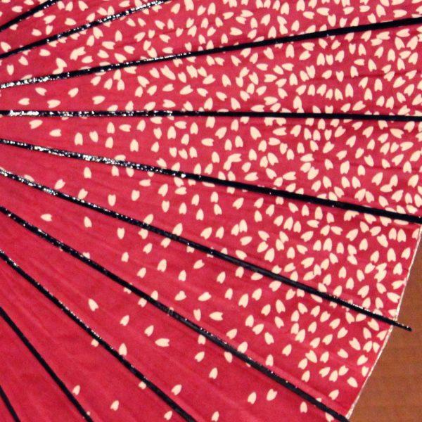 桜模様 桜ふぶき 和日傘