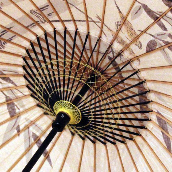 和日傘内側 もよう和傘