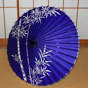 紫 竹 和傘 和日傘 Japanese umbrella  made in japan