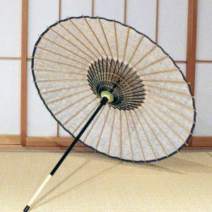 和日傘の内側 型染め もよう和傘