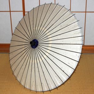 白 white 和日傘 Japanese paper parasol made in japan