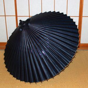 番傘 藍 青