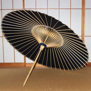 藍色 番傘 手漉き和紙 草木染和紙  Japanese umbrella
