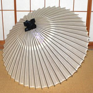 番傘 白 Japanese umbrella white
