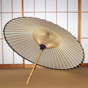 番傘 白 Japanese umbrella made in japan
