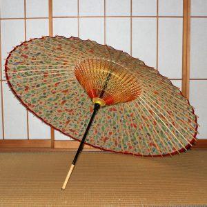 華やかな和傘 蛇の目傘の内傘 Japanese umbrella
