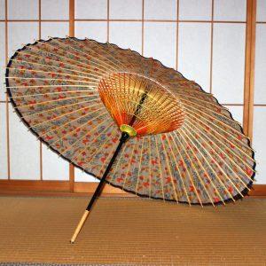 紅型もよう 華やかな蛇の目傘 もよう和傘