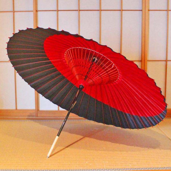 蛇の目傘の内傘 Japanese umbrella
