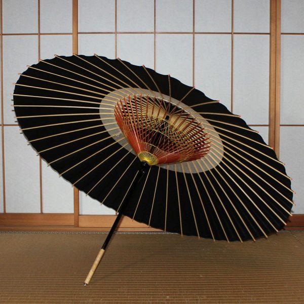 黒 蛇の目傘 和傘 蛇の目傘 Japanese umbrella black
