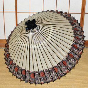 番傘に軒もよう 新しい番傘 Japanese Umbrella