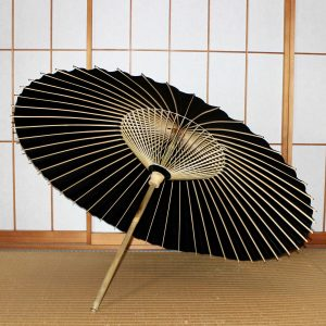 黒番傘 Japanese Umbrella Black