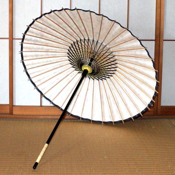 和日傘の内側 型染和紙