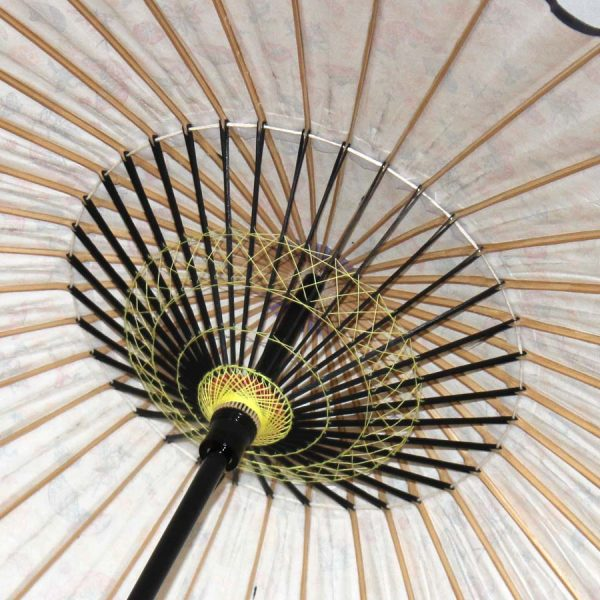 和日傘の糸飾り 繊細な手仕事