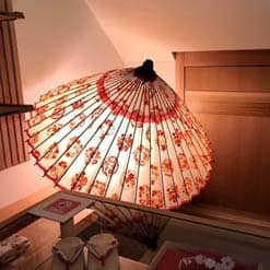 おはりばこさん 和傘のインテリア かわいらしい蛇の目傘【