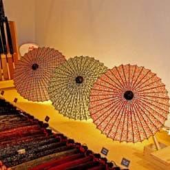 型染の和日傘