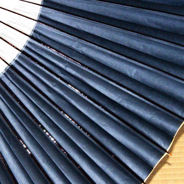 越中手漉き和紙 草木染 藍色