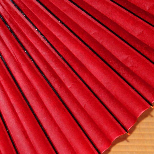 赤い和傘 蛇の目傘 手すき和紙 辻倉オリジナル蛇の目傘