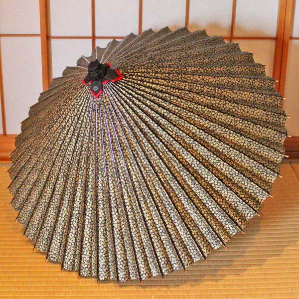 サクラもよう和傘 じゃのめ傘 番傘 辻倉の和傘