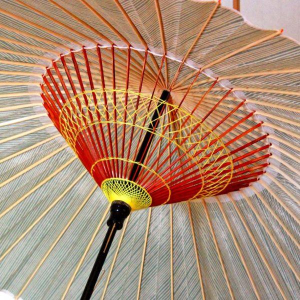 蛇の目傘の糸飾り 和傘