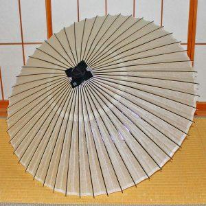白い番傘 和傘 Japanese umbrella