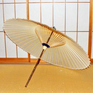 黑竹番傘 和傘 黒竹 木ハジキ