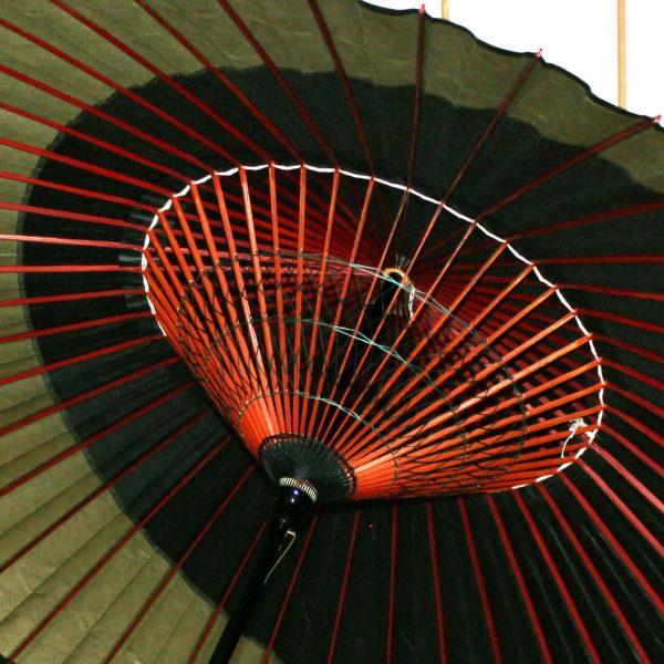 和傘の糸飾り 緑色