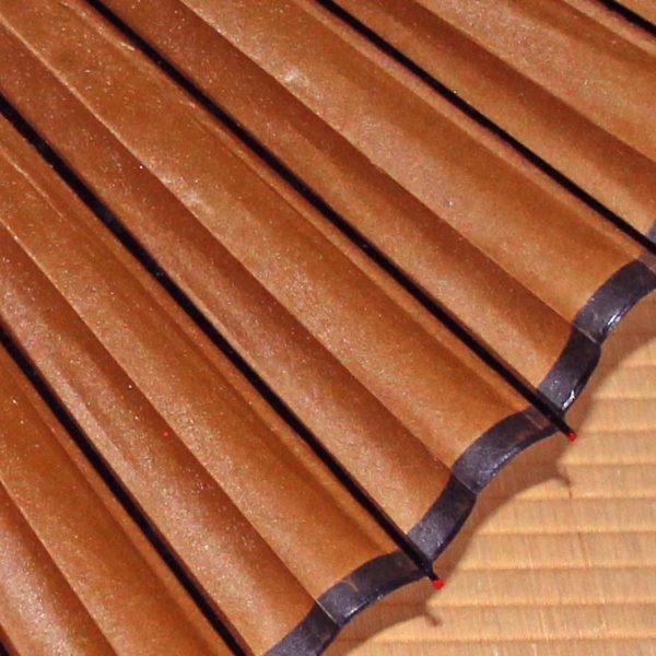 茶色 蛇の目傘