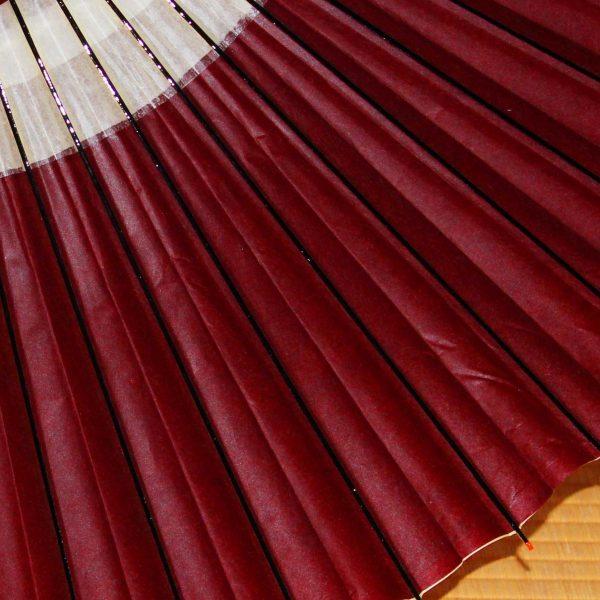 赤い蛇の目傘 Japanese umbrella