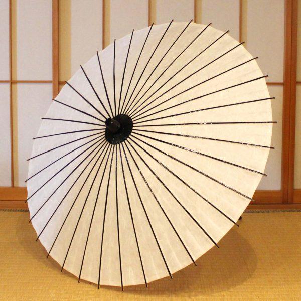 白色の和日傘