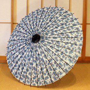 型染和紙の和傘 日傘