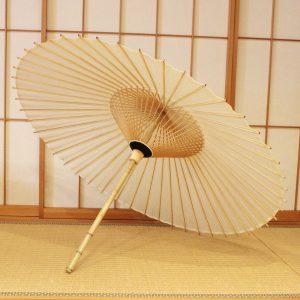 番傘 白い和傘 Japaneseumbrella