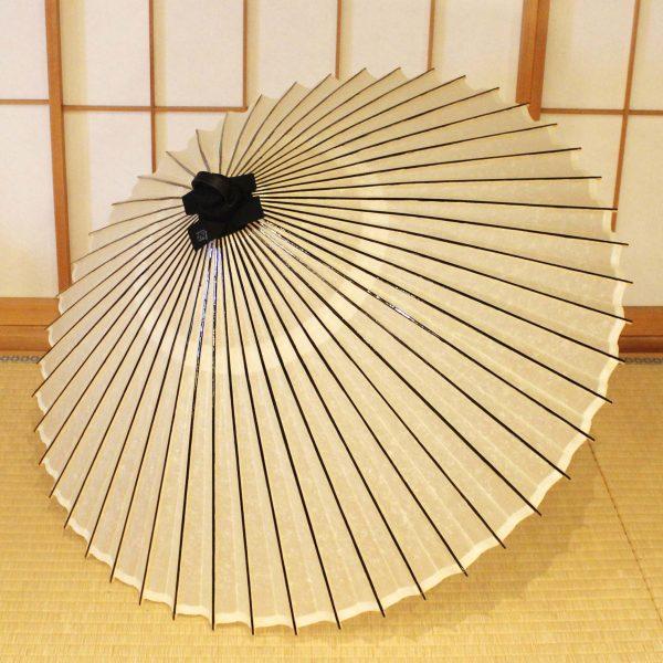 番傘 和傘 白 Japaneseumbrella
