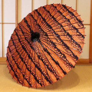 桜模様の和日傘