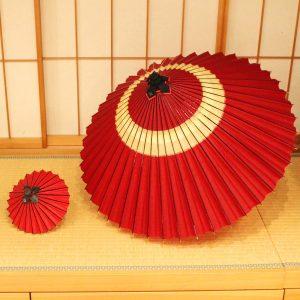 姫和傘 ミニ番傘 ミニチュア番傘