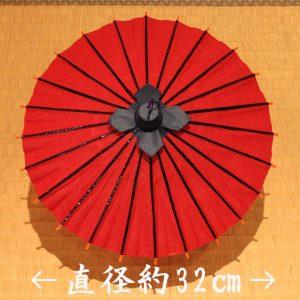 姫和傘 ミニ番傘