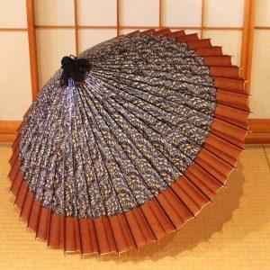 さざ波もようの和傘です。