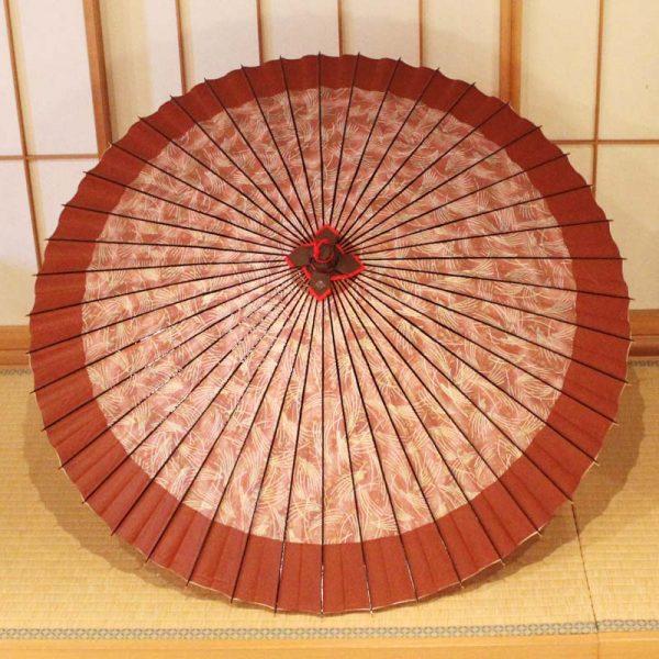 すすき模様の和傘、和のインテリア
