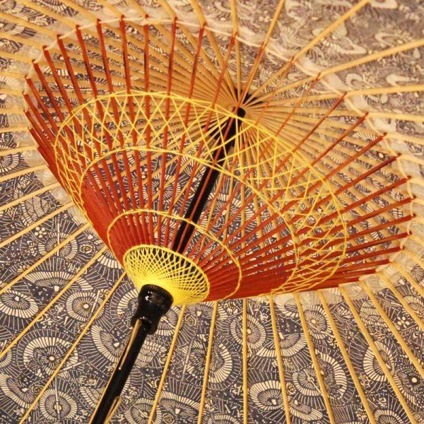 和傘もようの雨傘