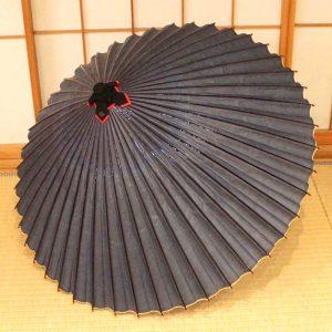 水色の和傘 青色の番傘